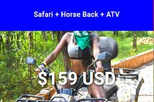 Safari + Horseback + ATV