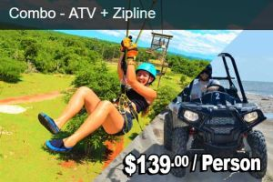JamWest ATV and Zipline Combo