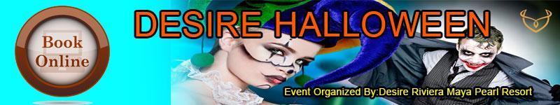 Desire Pearl Resort - Halloween Group Week