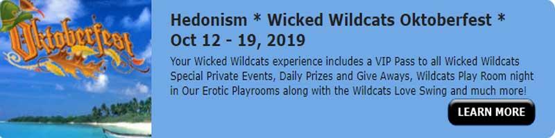 Wicked Wildcats Oktoberfest Oct 12- 19 2019