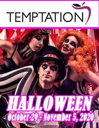 Cancun Halloween 2020 Parties Temptation Cancun Resort and The Socialites Halloween 2020