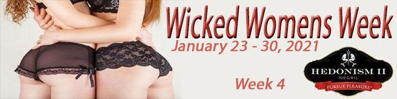 Hedonism II Wicked Women's Group Week