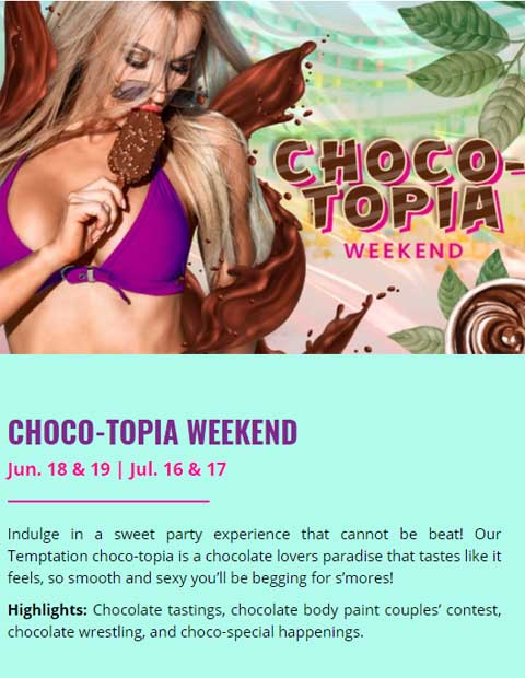 CHOCO TOPIA WEEKEND