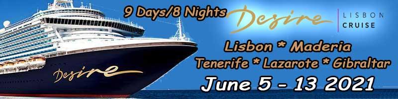 Desire Lisbon Cruise June 2021