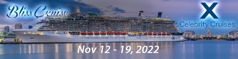 Bliss - Celebrity Reflection Nov 12-19, 2022