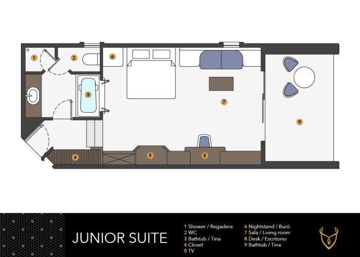 pearl planos junior suite