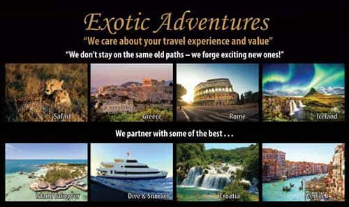 View the WET Adult Travel Brochure