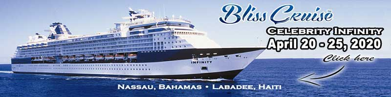 Bliss Cruise - Celebrity Infinity April 2020