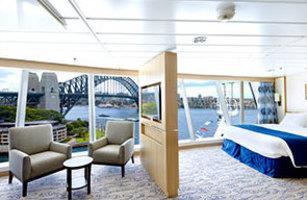 panoramic view Ocean Suite