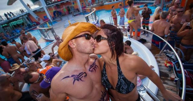 lifestyle Cruise Deck Party