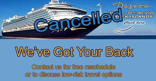 greek island cruise cancel