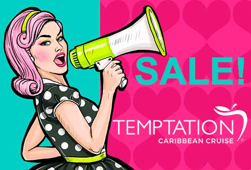 temptation cruise may sale